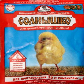 Витамины для цыплят
