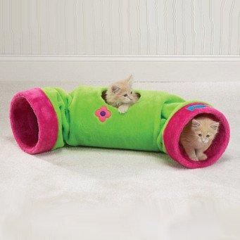 Как сделать туннель для кошки своими руками