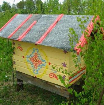 Как сделать домик пчел