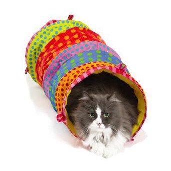 Туннель для кошки своими руками