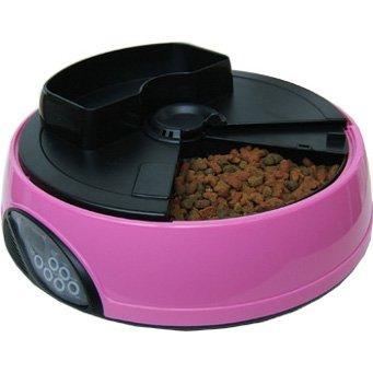 Автоматическая кормушка с таймером для кошек 5