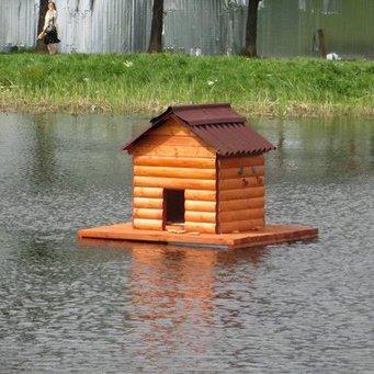 Как сделать дом для утки