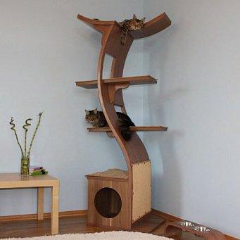 Построить своими руками дом для кота
