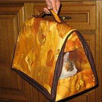 Сумка для кота своими руками из старой сумки 30